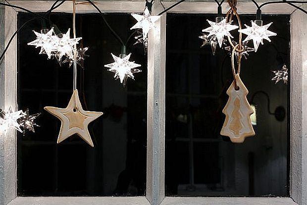 Jak Udekorować Okno Na święta