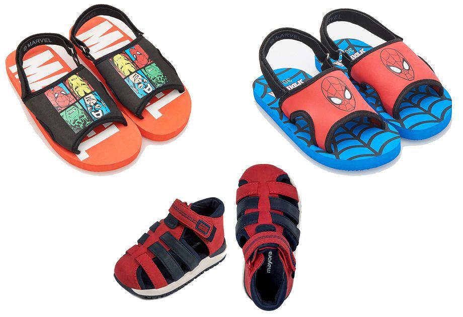 Sandały chłopięce - Reserved Kids