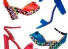 Kolorowe sandały Kari na wakacje