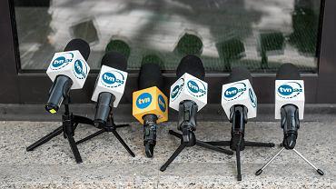 mikrofony TVN i TVN24