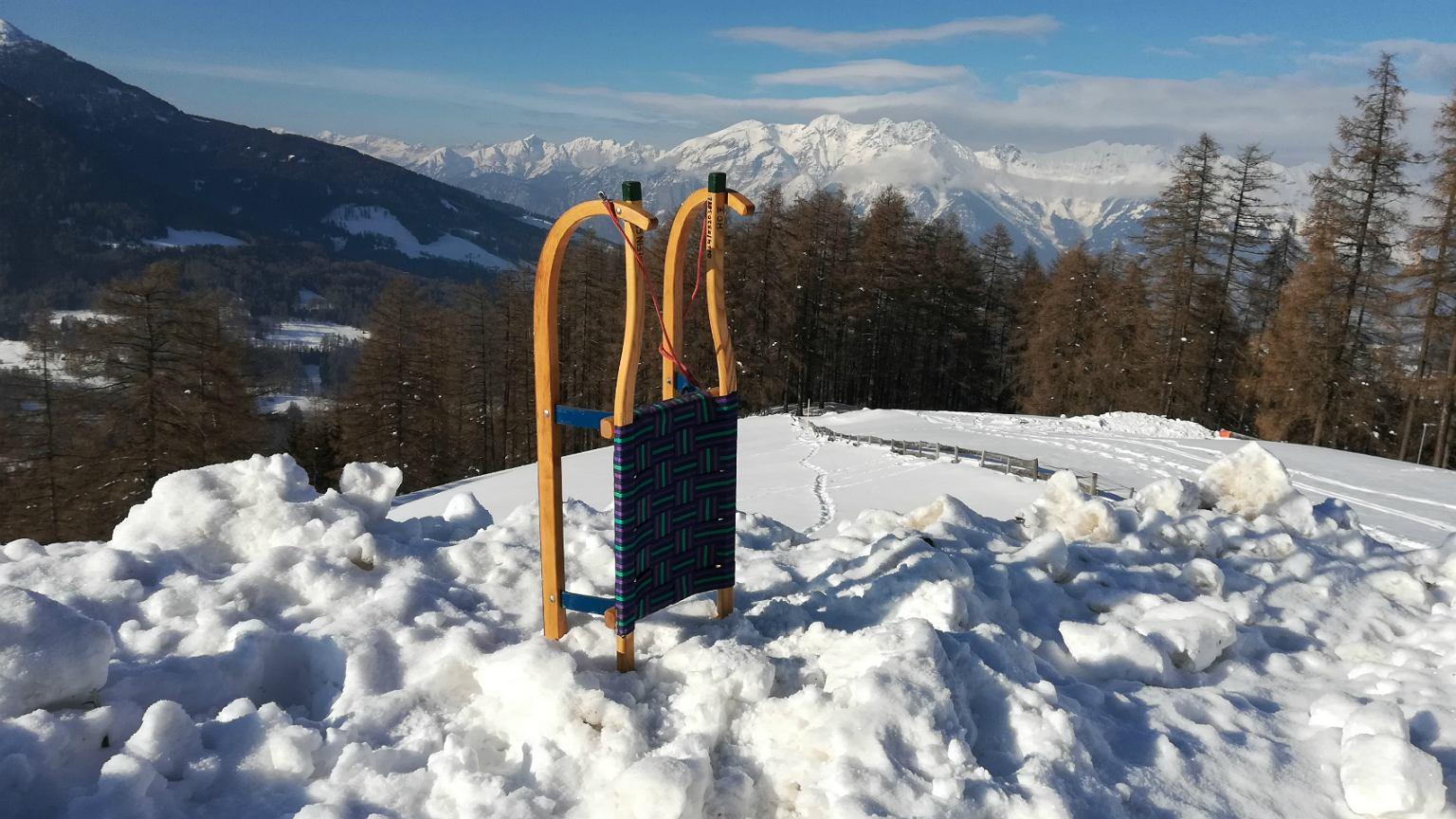 W całym Tyrolu znajduje się ponad 750 km torów saneczkowych (fot: Ewa Jankowska)