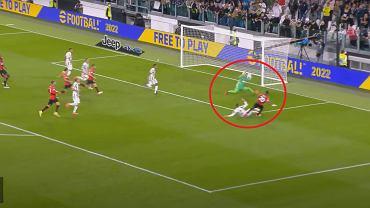 Wojciech Szczęsny popisał się świetną interwencją w końcówce meczu Juventus - Milan