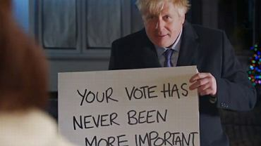 Spot wyborczy Borisa Johnsona