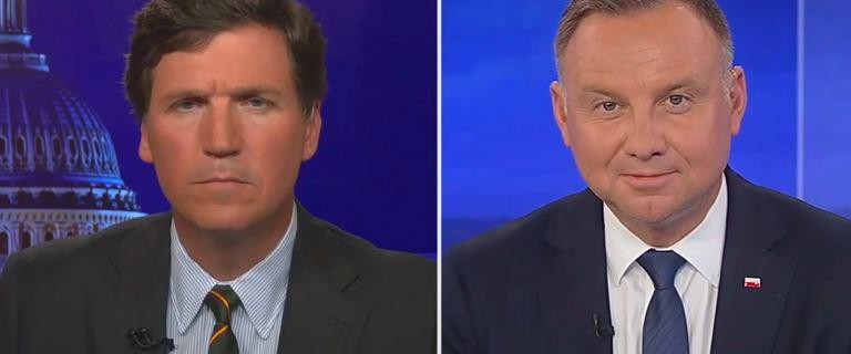 """Telewizja Fox News wyemitowała wywiad z Dudą. """"Opowiadam się za życiem"""""""