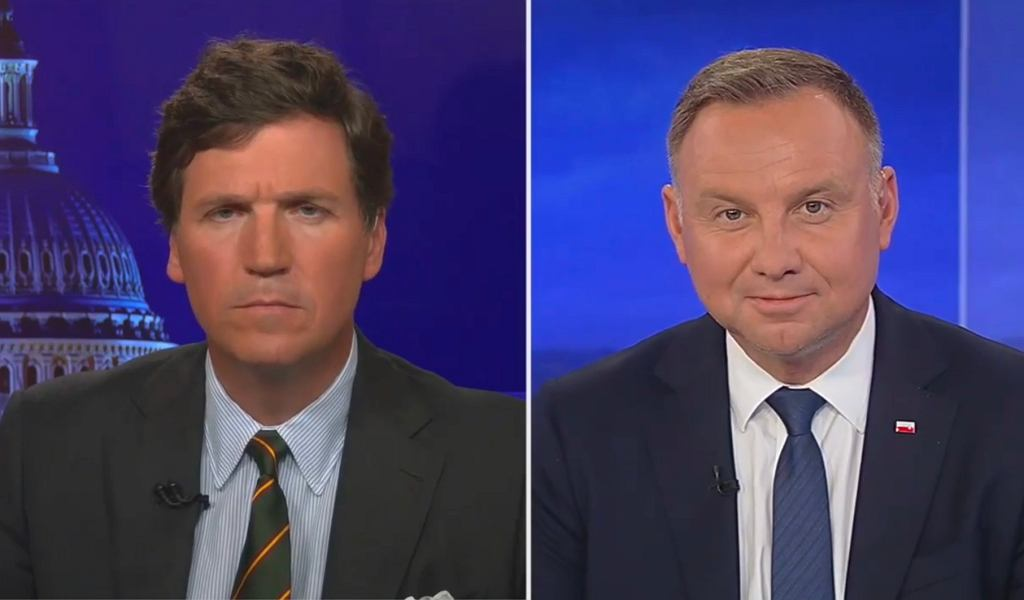 Andrzej Duda w Fox News