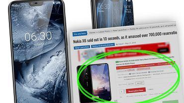 Nokia X6 wyprzedała się w 10 sekund
