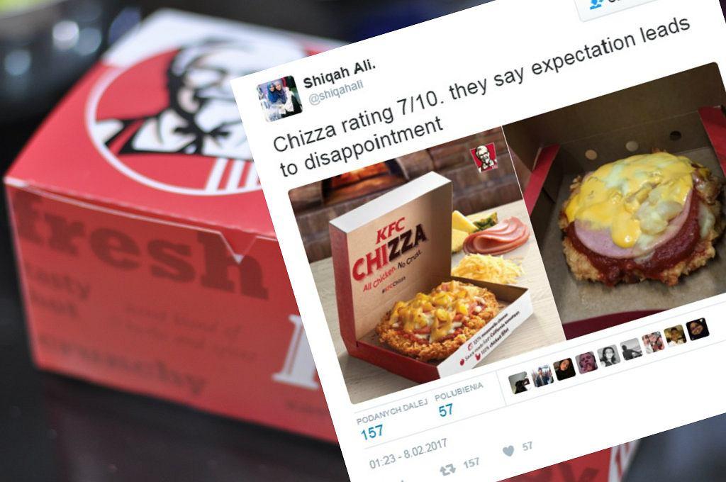 Chizza - to połączenie kurczaka i pizzy