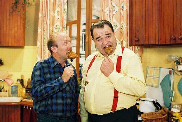 Artur Barciś i Cezary Żak