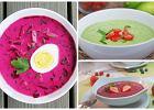 Zimne zupy na gorące dni [5 PRZEPISÓW]