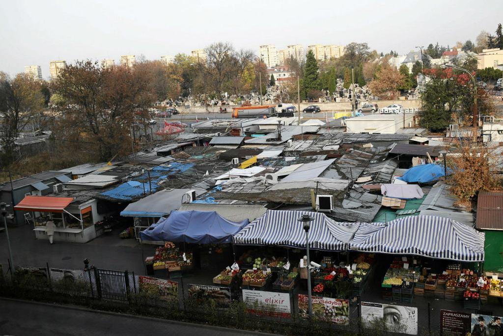 Bazar na Sadybie.