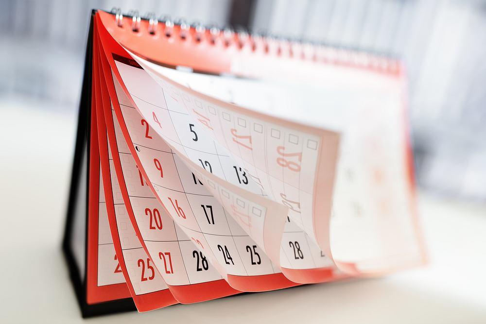 Kalendarz świąt 2021 pomoże zaplanować wolne dni. Zdjęcie ilustracyjne