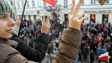 12 grudnia, Warszawa. Marsz w obronie państwa prawa i Trybunału Konstytucyjnego