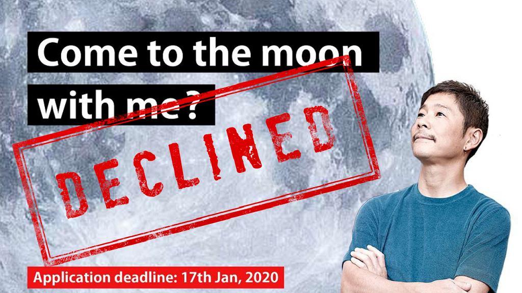 Yusaku Maezawa rezygnuje z reality-show, w którym miał wyłonić towarzyszkę podróży wokół Księżyca