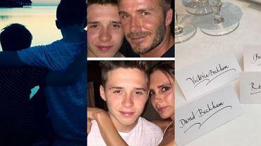 Brooklnyn Joseph Beckham, Victoria Beckham i David Beckham