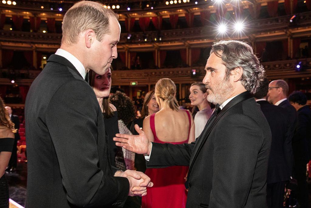 Książę Harry, Joaquin Phoenix