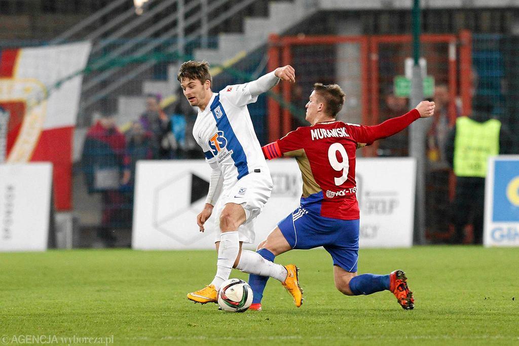 Piast Gliwice - Lech Poznań 2:0. Rafał Murawski