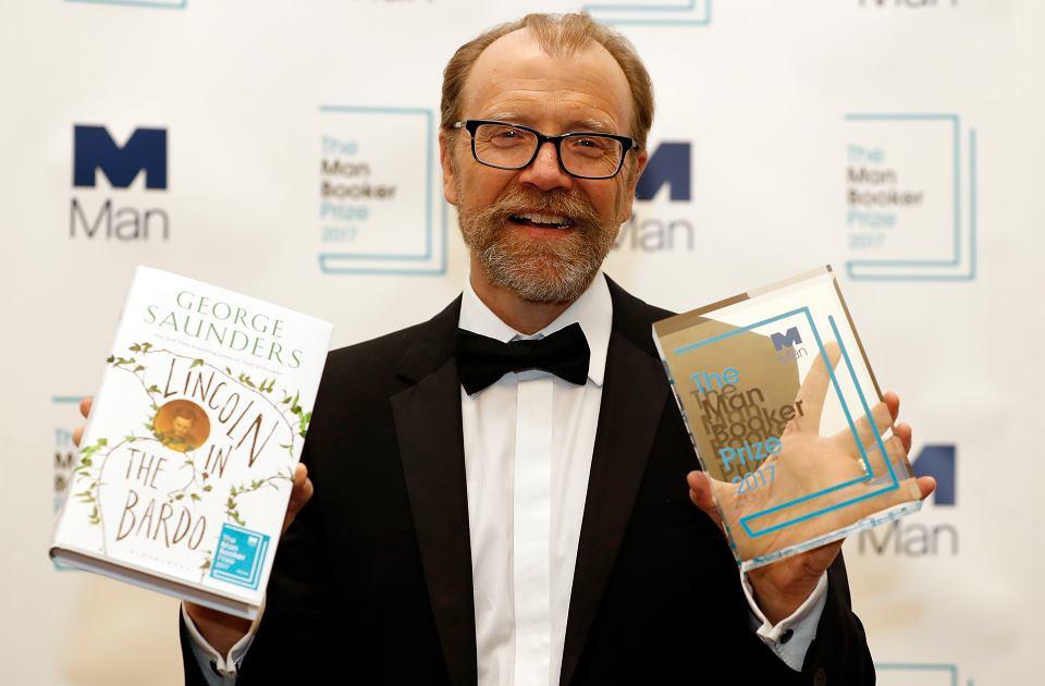 Nagroda Bookera 2017 dla George'a Saundersa za powieść 'Lincoln in the Bardo'