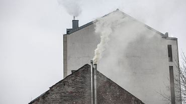 'Produkcja' smogu w Krakowie, 29 listopada 2014