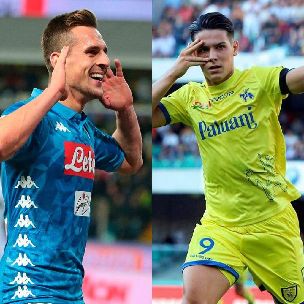 ChievoVerona - SSC Napoli. Gdzie oglądać polski mecz w Serie A?