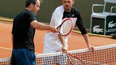 Magnus Norman i Stan Wawrinka
