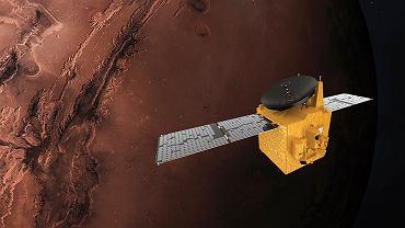 Sonda kosmiczna ZEA dotarła do Marsa. We wtorek włączy silniki i wejdzie na orbitę wokół planety