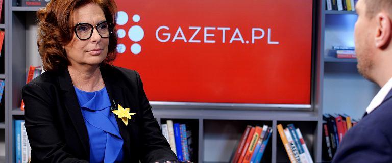 Małgorzata Kidawa-Błońska w Gazeta.pl: Rząd obraża godność nauczycieli