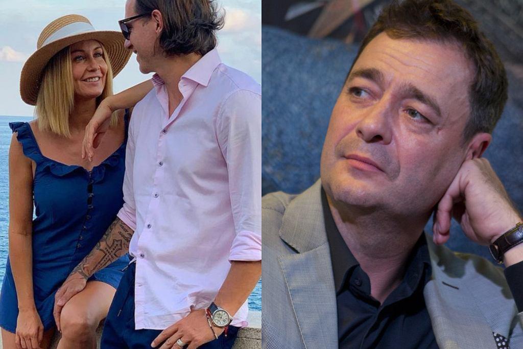 Małgorzata Rozenek, Radosław Majdan, Jacek Rozenek