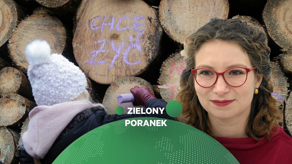 Daria Gosek-Popiołek w Zielonym Poranku Gazeta.pl