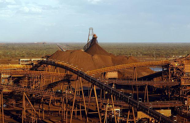 Australia, kopalnia rudy żelaza