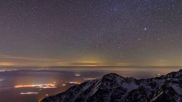 Michał Ostaszewski stworzył nagranie z 19 tysięcy zdjęć, które zrobił ze szczytu Łomnicy