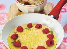 Omlet malinowo-kokosowy - ugotuj