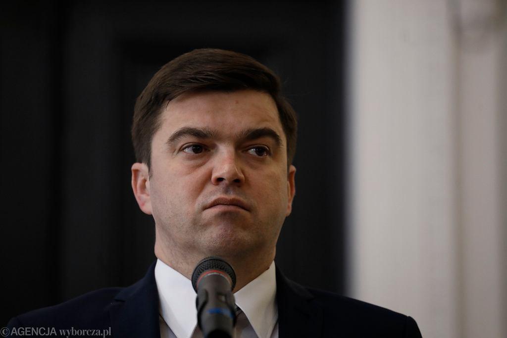Rzecznik prasowy Ministerstwa Zdrowia Wojciech Andrusiewicz