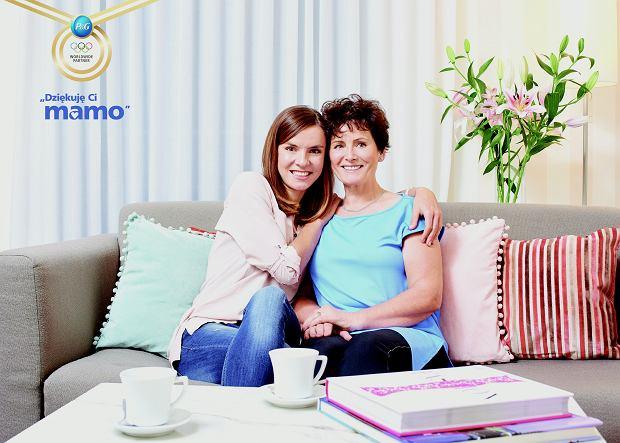 Maja Włoszczowska z Mamą w kampanii