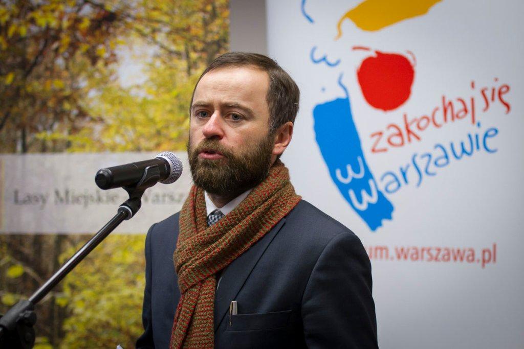 Wiceprezydent Michał Olszewski