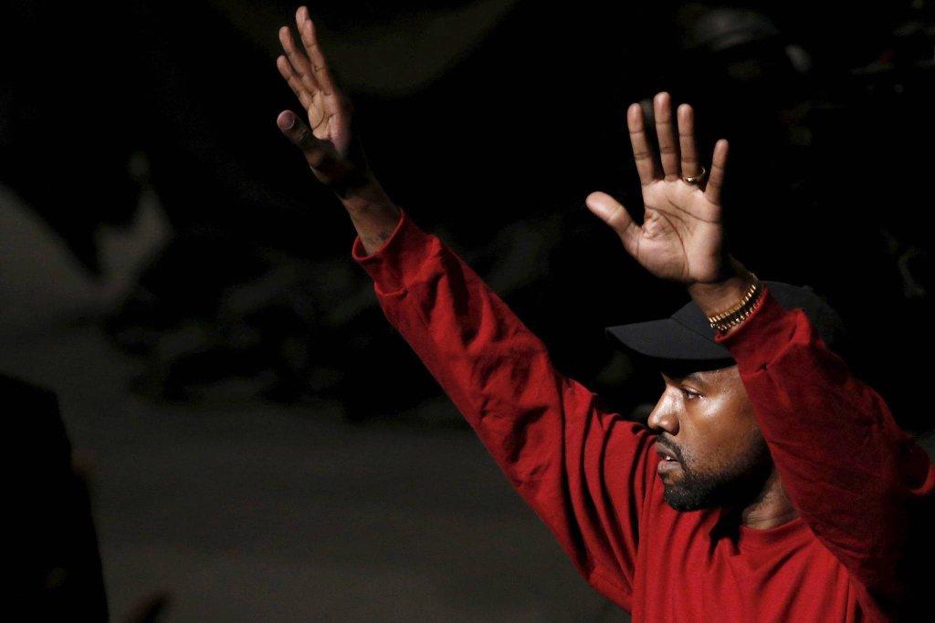 Kanye West na premierze