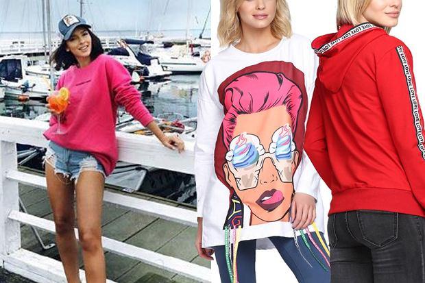 bluzy damskie/mat. partnera/www.instagram.com/klaudiahalejcio/