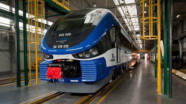Pociąg Link produkowany przez firmę Pesa dla Deutsche Bahn