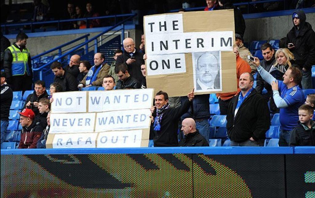 Kibice Chelsea domagali się zwolnienia Beniteza w 2013 roku