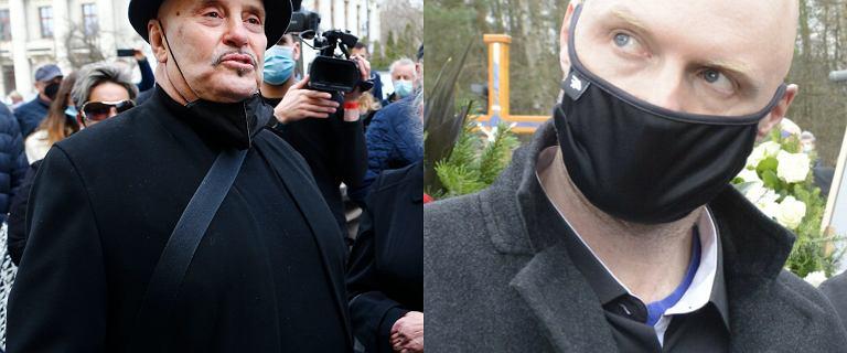 Lichtman tłumaczy się z incydentu na pogrzebie Krawczyka. Bronił syna wokalisty?