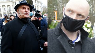 """Lichtman tłumaczy się z incydentu na pogrzebie Krawczyka. Bronił syna wokalisty? """"Był bojkotowany, więc go popchnąłem"""""""