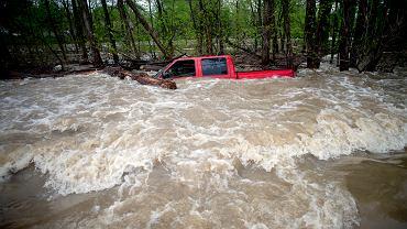 USA. Powódź w stanie Michigan