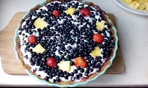 Tarta leśniczego, czyli smakołyk z jagodami