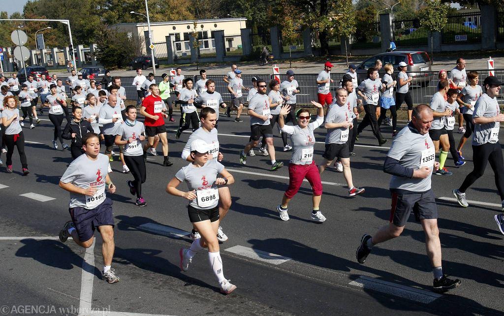 W biegu ''Biegnij, Warszawo'' wzięło udział ok. 15 tys. ludzi