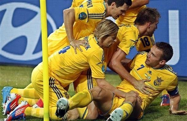 Ukraina - Szwecja 2:1