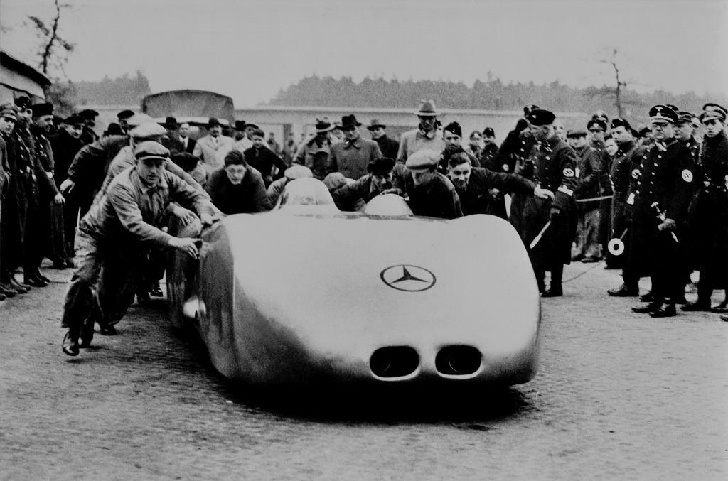Mercedes W125, rekordzista prędkości z 1938 roku
