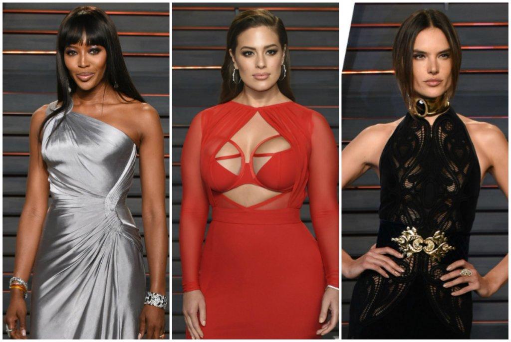 Top modelki na imprezie Vanity Fair po Oscarach