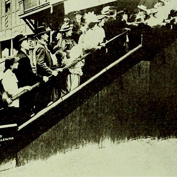 Historia schodów ruchomych