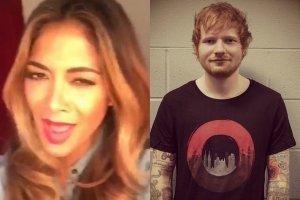 Nicole Scherzinger, Ed Sheeran