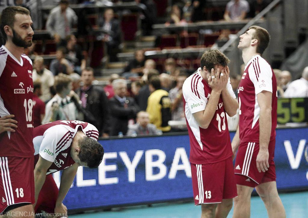 Polacy po odpadnięciu z mistrzostwa Europy w siatkówce