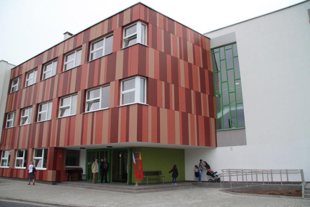 Szkoła przy ul. Topolowej będącej filią SP nr 342